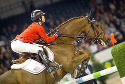 Steinwedell Carvin Francie (USA) - Taunus<br /> Rolex FEI World Cup ™ Jumping Final <br /> 'S Hertogenbosch 2012<br /> © Dirk Caremans
