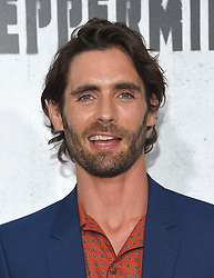 August 30, 2018 - Los Angeles, California, USA - 8/28/18.Tyson Ritter at the premiere of ''Peppermint'' held at the Regal Cinemas LA Live in Los Angeles, CA, USA. (Credit Image: © Starmax/Newscom via ZUMA Press)