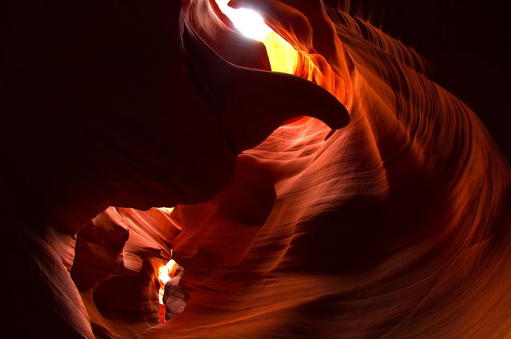 Secret Canyon (slot canyon), near Page, Arizona USA