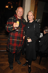 CLARA FISCHER and actor STEVEN BERKOFF  at a party to celebrate the publication of Michael Winner's new book 'Fat Pig Diet' held at The Belvedere, Holland Park, London on 17th October 2007.<br /><br />NON EXCLUSIVE - WORLD RIGHTS