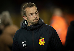 Assistenttræner Frank Hjortebjerg (FC Nordsjælland) før kampen i 3F Superligaen mellem FC Nordsjælland og Randers FC den 19. oktober 2020 i Right to Dream Park, Farum (Foto: Claus Birch).