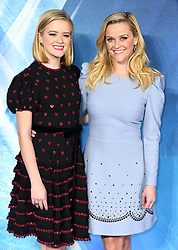 Reese Witherspoon (right) and her daughter Ava Elizabeth Phillippe attending the A Wrinkle in Time European Premiere held at the BFI IMAX in Waterloo, London. Photo credit should read: Doug Peters/EMPICS Entertainment