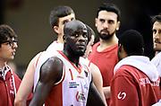 Delroy James<br /> Grissin Bon Pallacanestro Reggio Emilia - Vanoli Cremona<br /> Lega Basket Serie A 2016/2017<br /> Reggio Emilia, 08/01/2017<br /> Foto A.Giberti / Ciamillo - Castoria