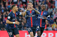 Angel Di Maria (psg) during the French Championship Ligue 1 football match between Paris Saint Germain and Toulouse FC on November 7, 2015 at Parc des Princes stadium in Paris, France. Photo Stephane Allaman / DPPI