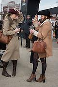 JESSICA WORTHINGTON; JESSICA DODD, The Cheltenham Festival Ladies Day. Cheltenham Spa. 11 March 2015