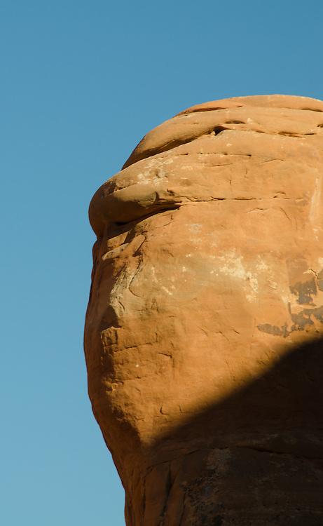 Eroding Sandstone Fin, Arches National Park, Utah, US