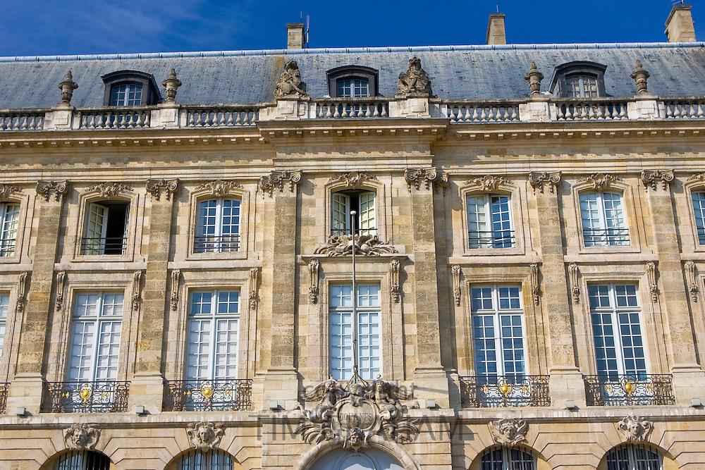 Douanes Customs House, on the Quai de la  Douanes,  Bordeaux, France