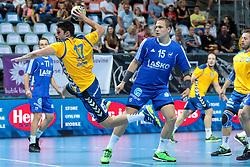 Jaka Moljk of Koper during handball match between RK Celje Pivovarna Lasso and RD Koper 2013 of Super Cup 2016, on August 27, 2016 in SRC Marina, Portoroz / Portorose, Slovenia. Photo by Matic Klansek Velej / Sportida