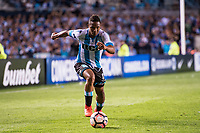 AVELLANEDA, BUENOS AIRES, ARGENTINA - 2017 NOVEMBER 01. Racing Club (11) Andrés Ibargüen during the Copa Sudamericana quarter-finals 2nd leg match between Racing Club de Avellaneda and Club Libertad at Estadio Juan Domingo Perón,  <br /> ( Photo by Sebastian Frej )