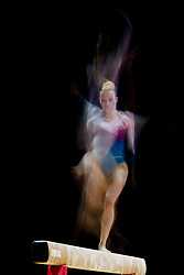 August 2, 2018 - Glasgow, UNITED KINGDOM - 180802 Marta Pihan-Kulesza of Poland competes at the beam in the women's qualification of Artistic Gymnastics during the European Championships on August 2, 2018 in Glasgow..Photo: Jon Olav Nesvold / BILDBYRÃ…N / kod JE / 160280 (Credit Image: © Jon Olav Nesvold/Bildbyran via ZUMA Press)