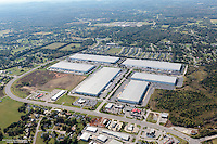 Aerial Photo Of Distribution And Warehouse Buildings Along With Various Retail On Almaville Road Just Off I-24 In Smyrna Tennessee.