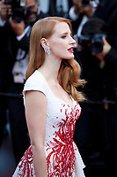 Jessica Chastain arriving to the Closing Ceremony and awards at the 70th Cannes Film Festival Sunday 28th May 2017, Cannes, France. Photo credit: Doreen Kennedy