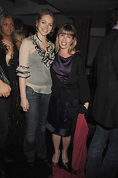 Left to right, VANESSA TEAGUE and FIONA CARBERRY-McGLINCHEY at a party to launch the new upstairs area of Mamilanji, 107 Kings Road, London SW3 on 19th April 2007.<br /> <br /> NON EXCLUSIVE - WORLD RIGHTS