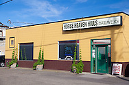 The Horse Heaven Hills Brewery, located in Prosser, Washington, makes fresh hops beer once a year.