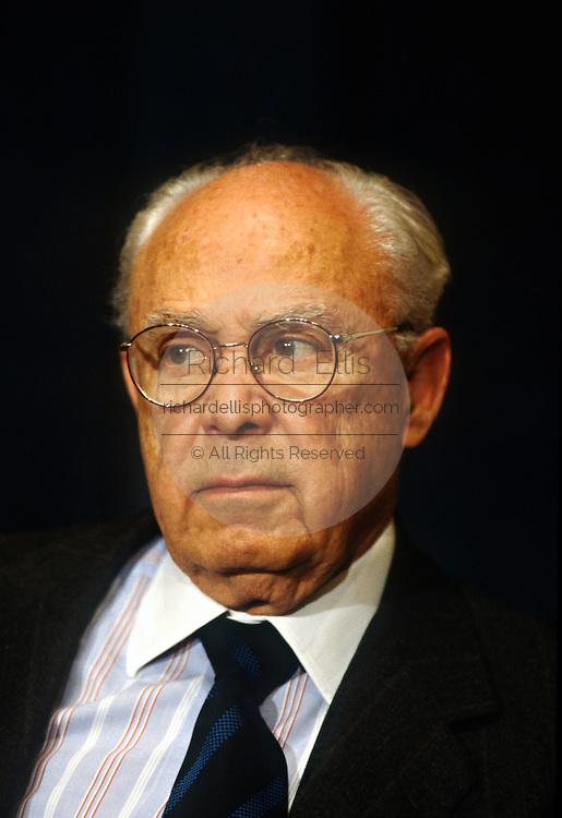 Robert Strauss, lawyer and diplomat November 22, 1996 in Washington, DC.