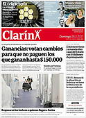 March 28, 2021 (LATIN AMERICA): Front-page: Today's Newspapers In Latin America