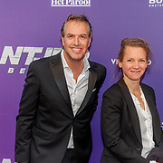 NLD/Amsterdam/20190415 - Filmpremiere première Baantjer het Begin, Richard Kemper en .........