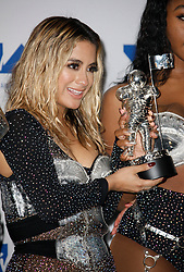 Ally Brooke of Fifth Harmony, winners of Best Pop for 'Down', in the Press Room at the 2017 MTV Video Music Awards at The Forum on August 27, 2017 in Inglewood, California. (Photo by CraSH/imageSPACE)