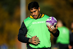 Malakai Fekitoa of Wasps during training ahead of the European Challenge Cup fixture against SU Agen - Mandatory by-line: Robbie Stephenson/JMP - 18/11/2019 - RUGBY - Broadstreet Rugby Football Club - Coventry , Warwickshire - Wasps Training Session