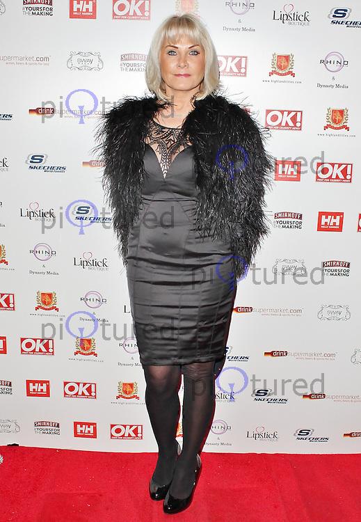 LONDON - November 27: Carol Wright at the OK! Magazine - Christmas Party (Photo by Brett D. Cove)