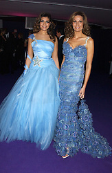 Left to right, MISS SOPHIE KRISTENSEN and her mother designer ISABELL KRISTENSEN at The British Red Cross London Ball - H2O The Element of Life, held at The Room by The River, 99 Upper Ground, London SE1 on 17th November 2005.<br />