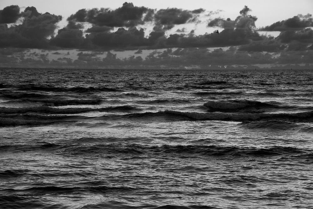 Ocean and Sky at dawn in Miami Beach