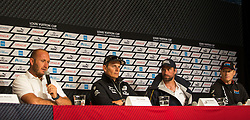 5th of July, 2013, Press conference with the four skippers.