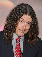 """WESTWOOD, CA - APRIL 28: Al Yankovic arrives at the premiere of Universal Pictures' """"Bridesmaids"""" held at Mann Village Theatre on April 28, 2011 in Los Angeles, California."""