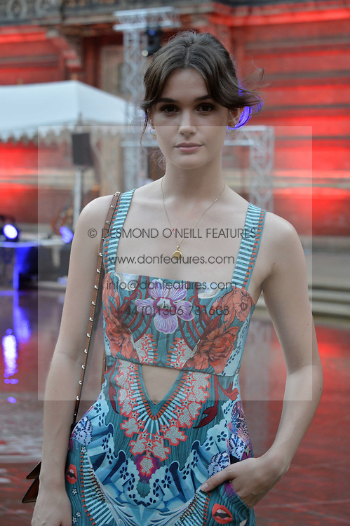 Sai Bennett at the V&A Summer Party 2017 held at the Victoria & Albert Museum, London England. 21 June 2017.<br /> Photo by Dominic O'Neill/SilverHub 0203 174 1069 sales@silverhubmedia.com