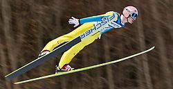 05.02.2011, Heini Klopfer Skiflugschanze, Oberstdorf, GER, FIS World Cup, Ski Jumping, 1. Wertungsdurchgang, im Bild Manuel Fettner (AUT)  , during ski jump at the ski jumping world cup in Oberstdorf, Germany on 05/02/2011, EXPA Pictures © 2011, PhotoCredit: EXPA/ P. Rinderer