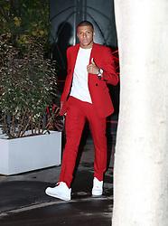 Kylian Mbappé<br /> Celebs attending the 27th birthday Neymar Jr. at Pavillon Gabriel in Paris, France, on February 4, 2019.