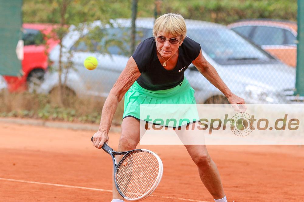 Helga Röcker (Grunewald Tennis-Club), Grunewald Open 2018 - Senioren, Finals, Berlin, 16.09.2018, Foto: Claudio Gärtner