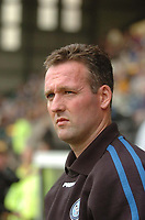 Photo: Leigh Quinnell.<br /> Notts County v Wycombe Wanderers. Coca Cola League 2. 12/08/2006. Wycombe manager Paul Lambert looks on.
