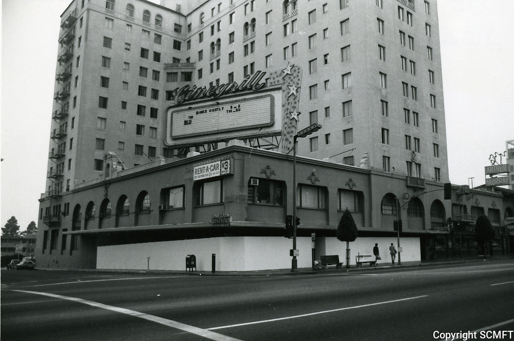 1978 Remodeling of the Hollywood Roosevelt Hotel