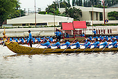Royal Barge Procession Rehearsal