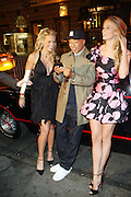 l to r: Heidi Albertson, Russell Simmons and Jill Henderson at The Life Project for Africa Benefit for the NJIA Health Center in Tanzania, Africa and held at Ben and Jack's Restaurant on November 10, 2009 in New York City