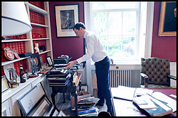Image ©Licensed to i-Images Picture Agency. 13/07/2016. London, United Kingdom. George Osborne last Day in No11. Picture by Andrew Parsons / i-Images