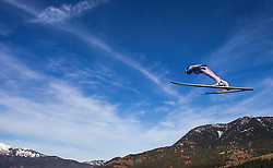 31.12.2012, Olympiaschanze, Garmisch Partenkirchen, GER, FIS Ski Sprung Weltcup, 61. Vierschanzentournee, Training, im Bild Dawid Kubacki (POL) // Dawid Kubacki of Poland during practice Jump of 61th Four Hills Tournament of FIS Ski Jumping World Cup at the Olympiaschanze, Garmisch Partenkirchen, Germany on 2012/12/31. EXPA Pictures © 2012, PhotoCredit: EXPA/ Juergen Feichter