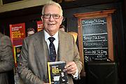 Boekpresentatie Huisje Boompje Buikje - Bastiaan Ragas  in Cafe Gruter, Amsterdam.  De nieuwe verhalenbundel is een pleidooi voor de ouwe lul 2.0<br /> <br /> op de foto:  Ben Ragas