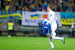 Josip Ilicic (SLO) during the UEFA EURO 2016 Play-off for Final Tournament, Second leg between Slovenia and Ukraine, on November 17, 2015 in Stadium Ljudski vrt, Maribor, Slovenia. Photo by Urban Urbanc / Sportida