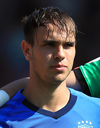 Italy U17's Alessio Riccardi during the UEFA European U17 Championship, Group A match at Banks's Stadium, Walsall. PRESS ASSOCIATION Photo. Picture date: Monday May 7, 2018. See PA story SOCCER England U17. Photo credit should read: Mike Egerton/PA Wire. RESTRICTIONS: Editorial use only. No commercial use.
