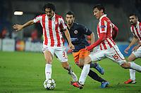 FOOTBALL - UEFA CHAMPIONS LEAGUE 2012/2013 - GROUP STAGE - GROUP B - MONTPELLIER HSC v OLYMPIACOS - 24/10/2012 - PHOTO SYLVAIN THOMAS / DPPI -  FRANCOIS MODESTO (OFC)