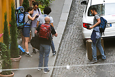 Clint Eastwood Filming Paris Train Heroes - 24 Aug 2017