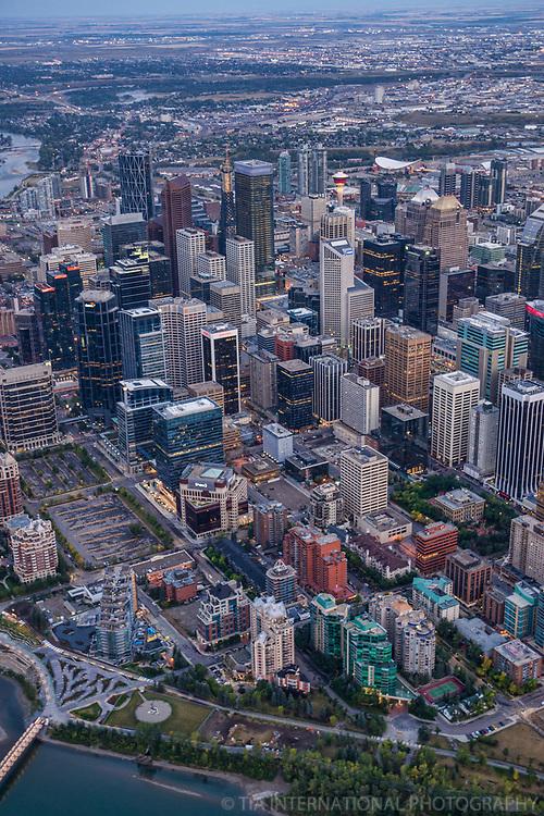 Core of Downtown Calgary