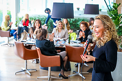 Brasil de Ideias Mulher, evento da Revista Voto recebe Carla Sarni e a Comandante Nádia, para um almoço no Bah Restaurante, localizado no Barra Shopping Sul. FOTO: Marcos Nagelstein/Agência Preview