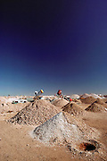 Coober Pedy opal mine. South Australia.