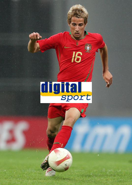 20090324: FUNCHAL, MADEIRA, PORTUGAL - Portugal vs Cape Verde: XIII Madeira International Under 21 Tournament. In picture: Fabio Coentrao (Portugal). <br />PHOTO: Octavio Passos/CITYFILES