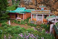 Mongolie, province de Ovorkhangai, monastère de Tovkhon fondé en 1648 par Zanabazar // Mongolia, Ovorkhangai, Tovkhon Monastery, founded in 1648 by Zanabazar