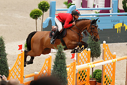 Schwizer Pius (SUI) - Carlina<br /> Rolex FEI World Cup Final Jumping 2011<br /> © Hippo Foto - Leanjo de Koster