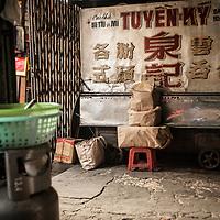 Street scene, Saigon, Vietnam.
